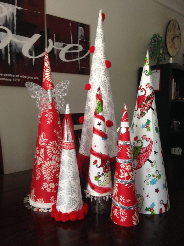 DIY Christmas Tree Cones
