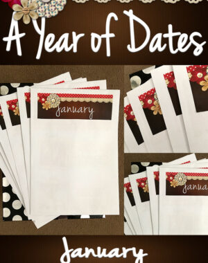 A Year of Dates (In A Box) January