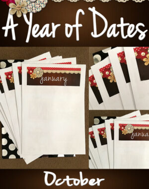 A Year of Dates (In A Box) October