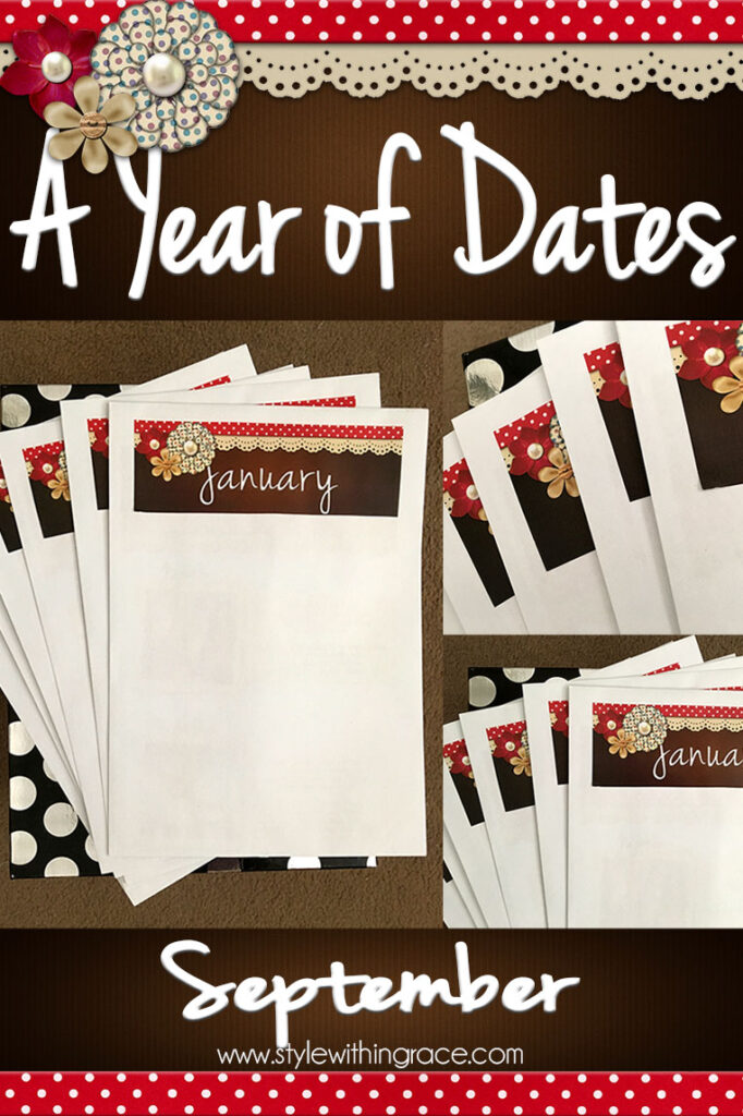 A Year of Dates (In A Box) September