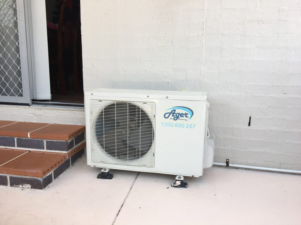 Air Con Unit Before 1