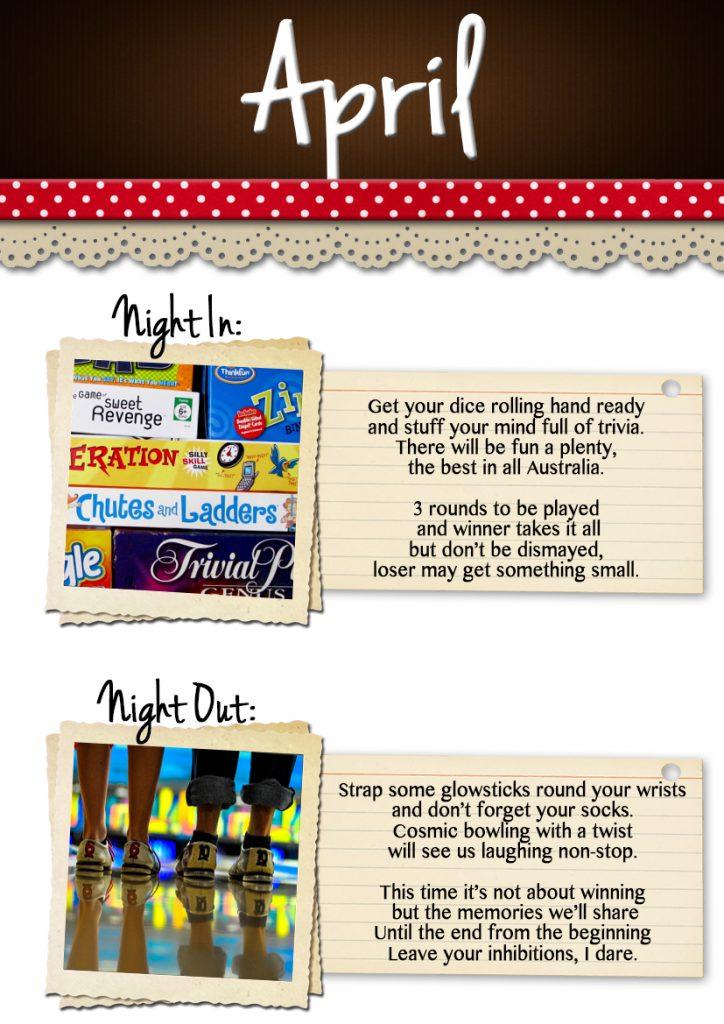April Date Ideas
