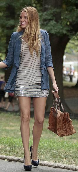 Blake Lively - Serena Van Der Woodsen Outfit Inspiration