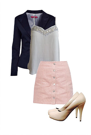 Colour Mood Board Outfit