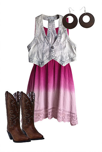 Country Girl Outfit Costume