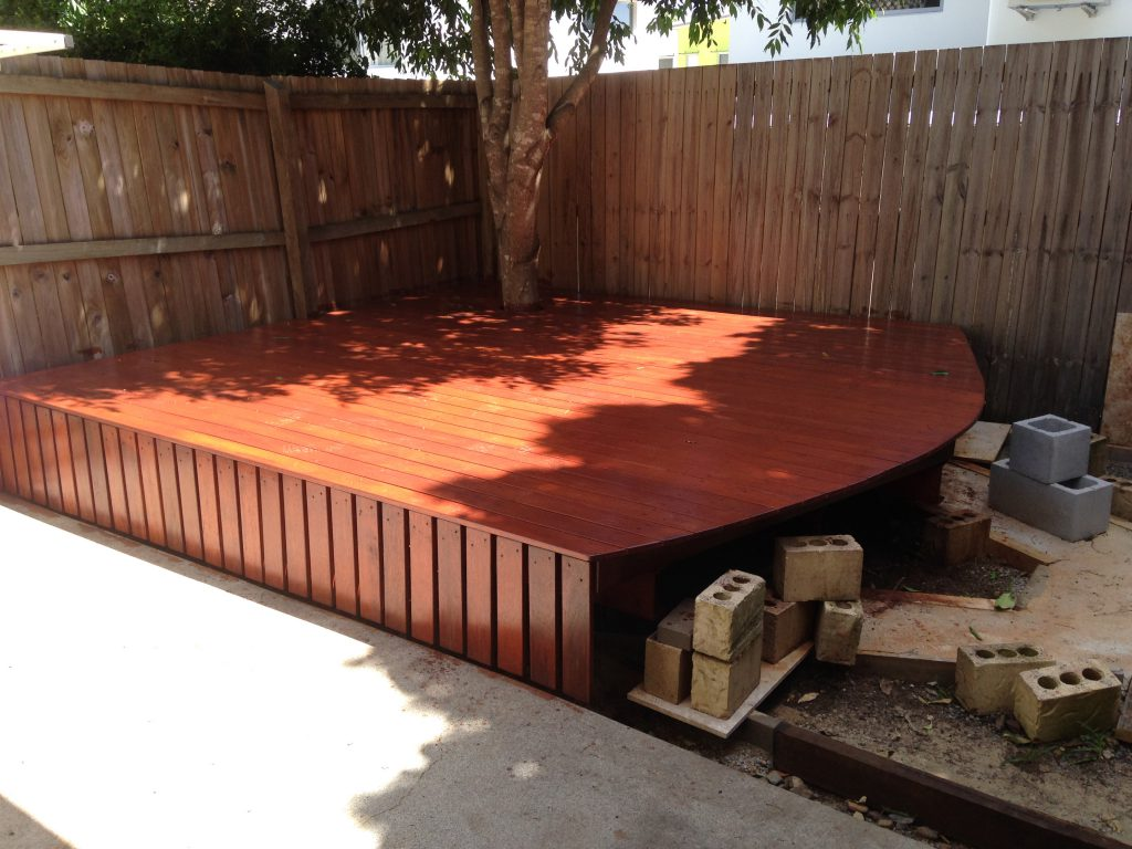 Deck All Stained