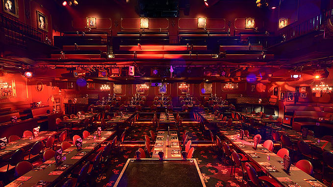 Dracula's Cabaret Restaurant Inside
