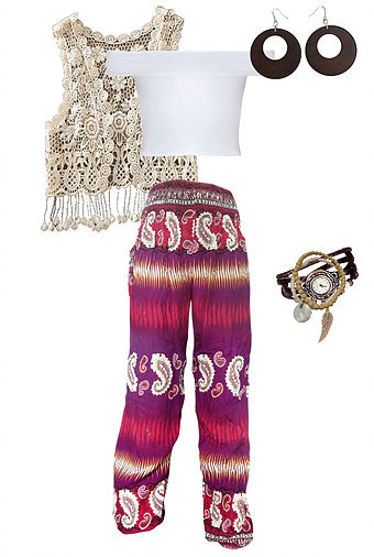 Hippie Chic Outfit Costume