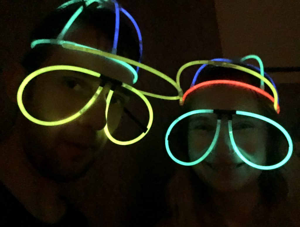 Glow Stick Selfie