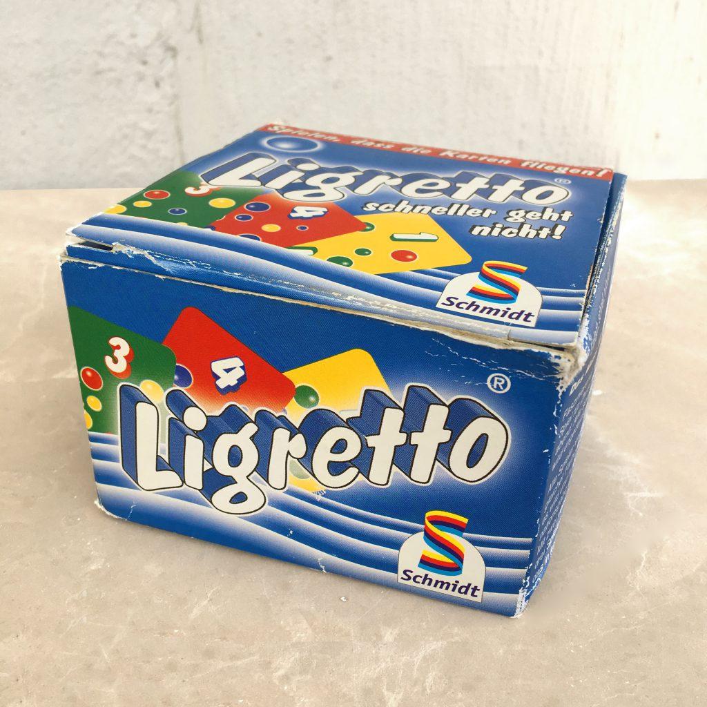 Ligretto Card Game Box
