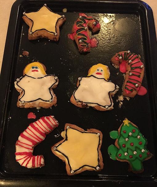 Iced Christmas Cookies 1