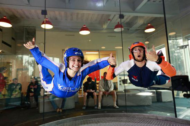 Indoor Skydiving 2