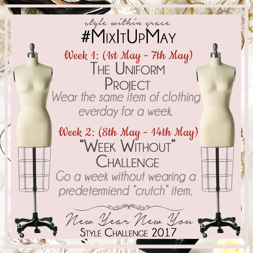 Mix It Up May Style Prompts Week 1 & 2