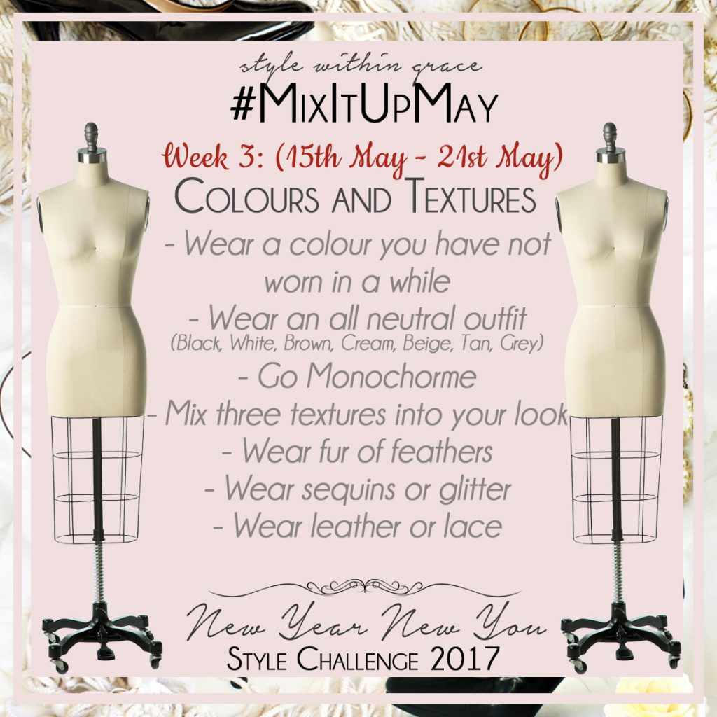 Mix It Up May Style Prompts Week 3