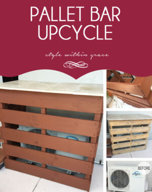 Pallet Bar Upcycle