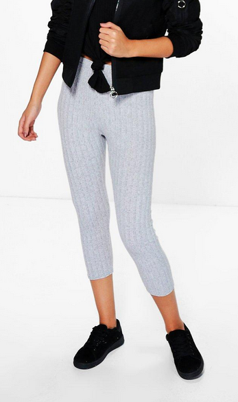 Maren Soft Knit 3/4 Leggings