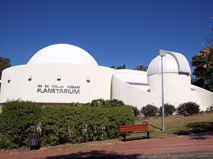 Sir Thomas Brisbane Planetarium Outside
