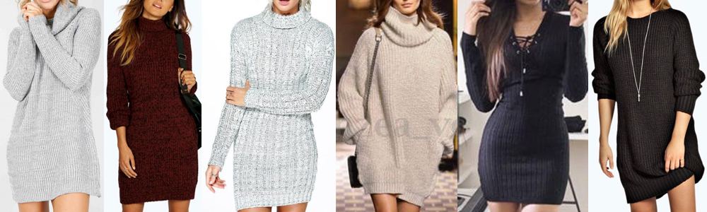 Winter Essentials Sweater Dress