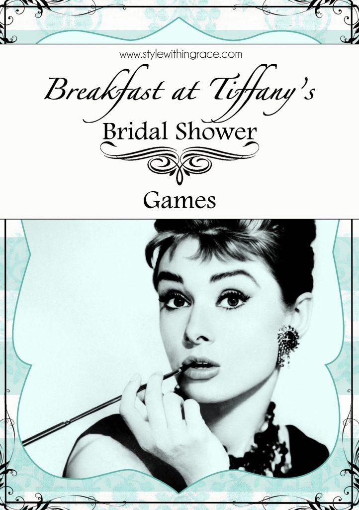 Breakfast at Tiffany's Bridal Shower Games