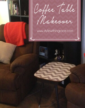 DIY Coffee Table Makeover Title