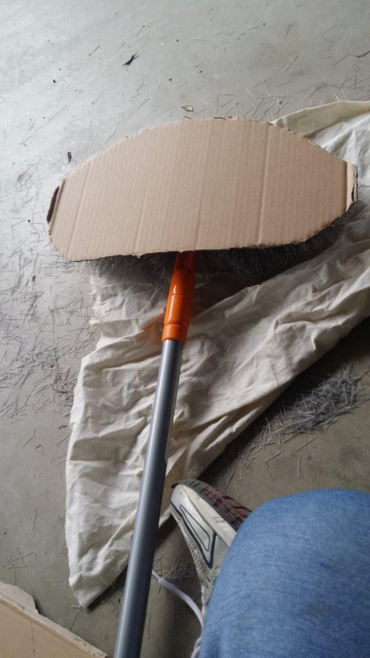 DIY Egyptian Fan Costume Prop Step 1