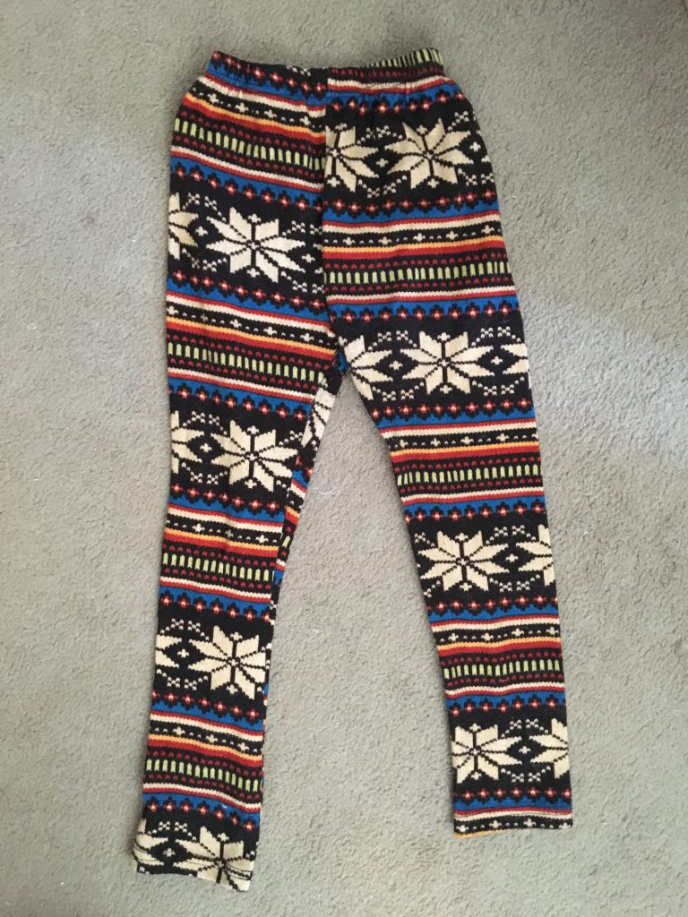 DIY Leggings Before