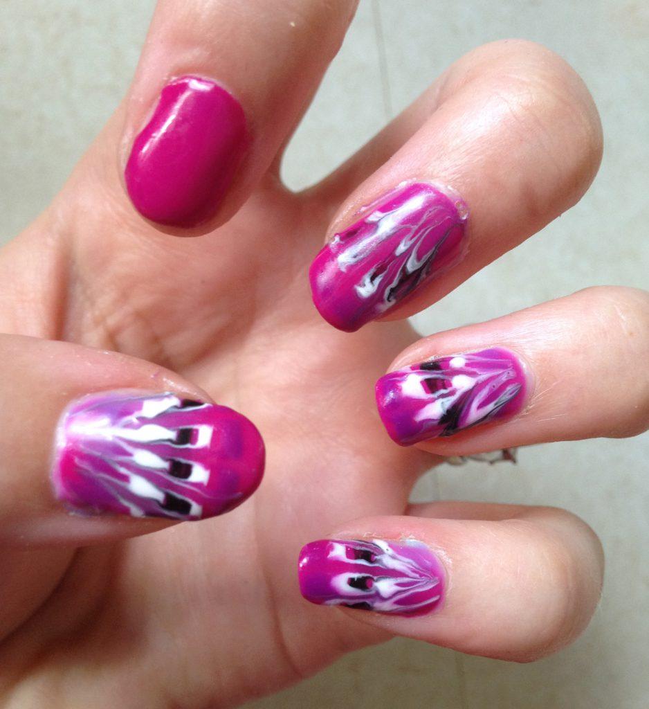 Drag Art Nails Cold 1