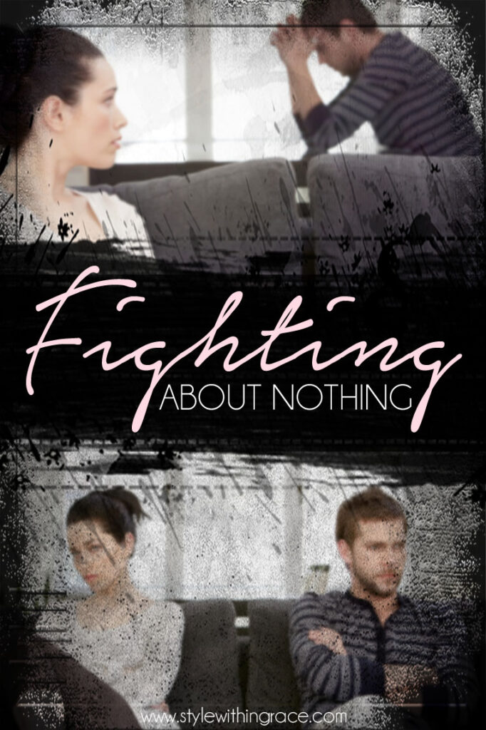 Fighting About Nothing? (My insights into lovers tiffs)