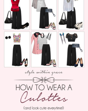 How to Wear a Culottes