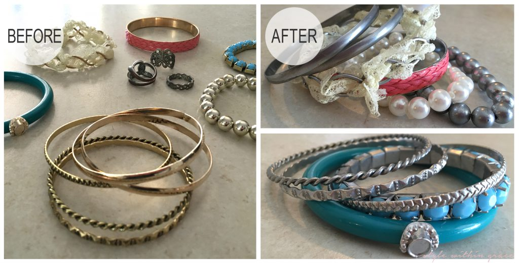 Jewellery Makeover DIY Before and After 3