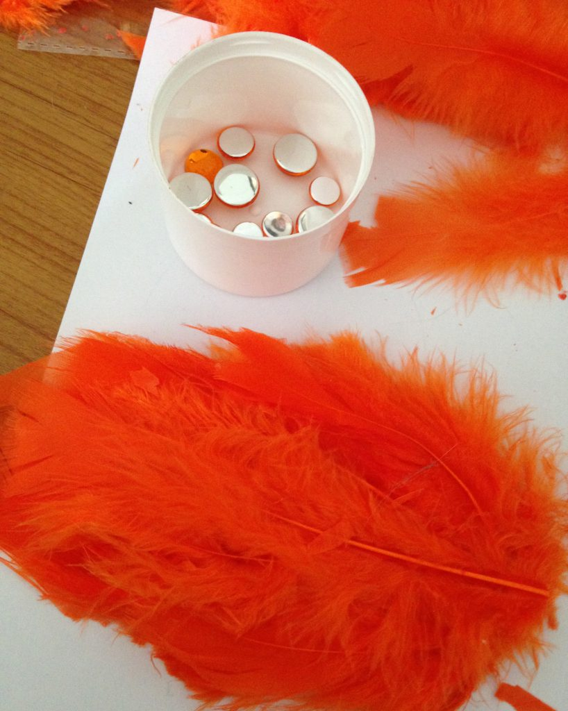 Swan Lake Hair Pieces DIY Step 3-1
