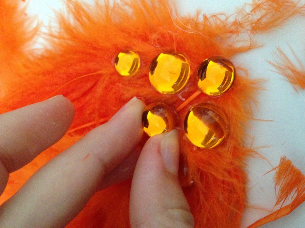 Swan Lake Hair Pieces DIY Step 3-2