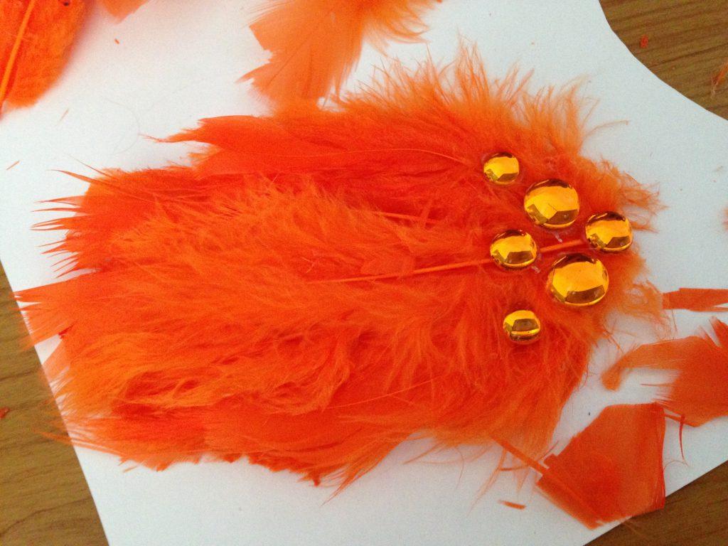 Swan Lake Hair Pieces DIY Step 4