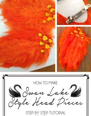 Swan Lake Hair Pieces