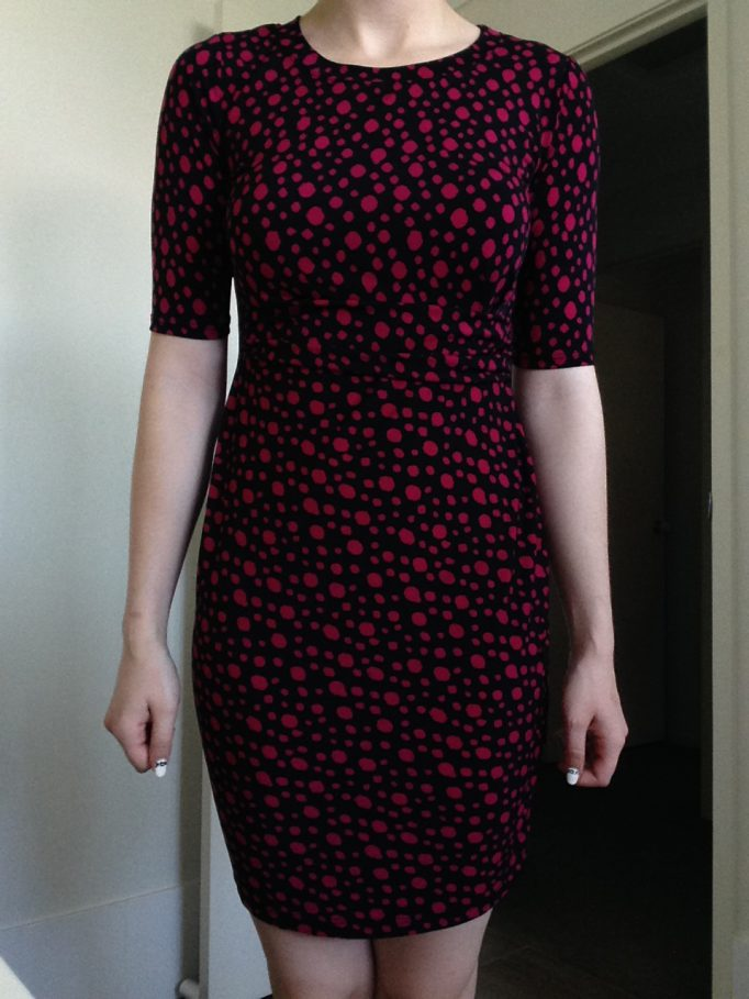 Gilli Dotted Dress
