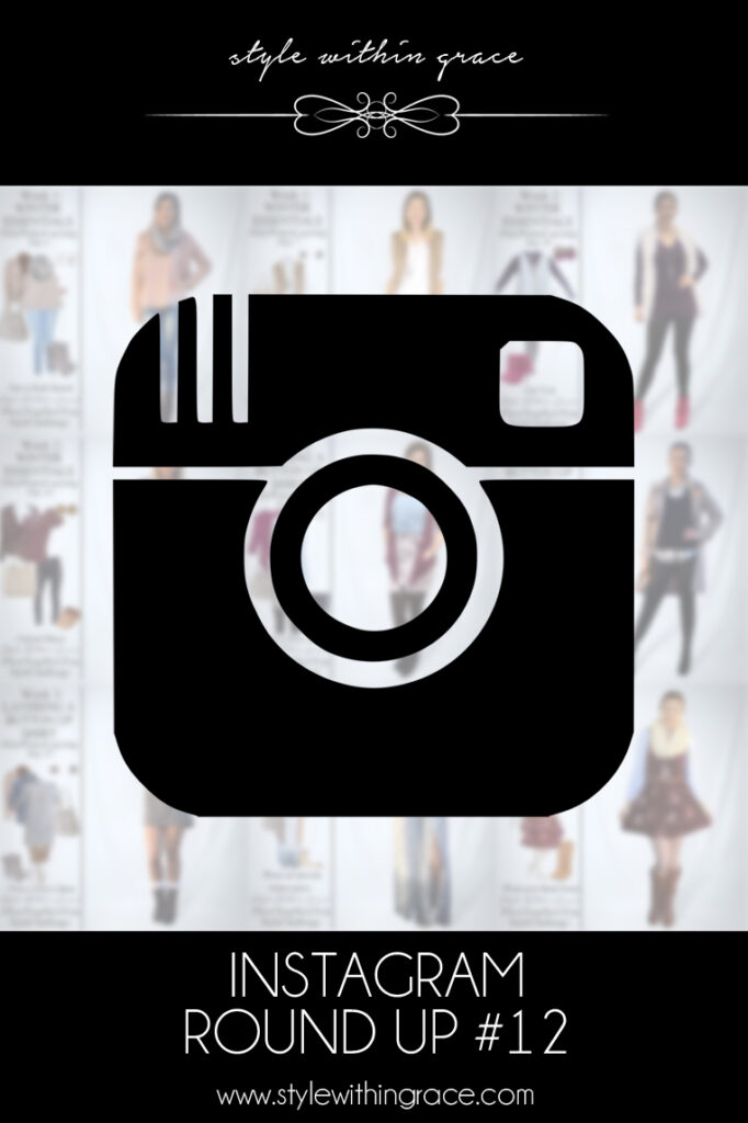 Instagram Round Up #12 (July Winter Layering)