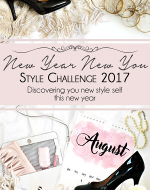 New Year New You Style Challenge August Title
