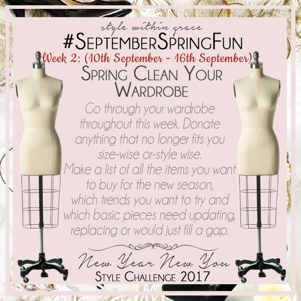 September Spring Fun Style Prompts Week 2