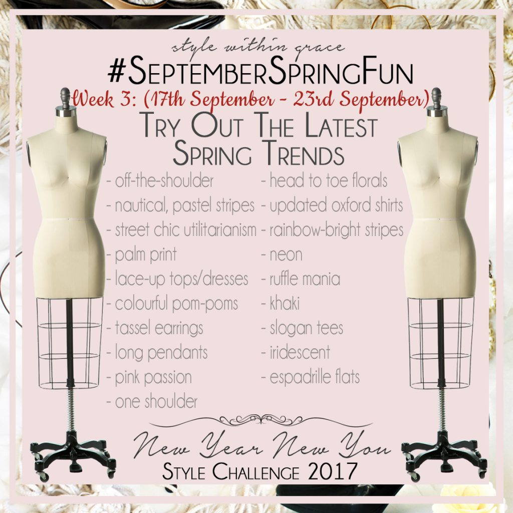 September Spring Fun Style Prompts Week 3