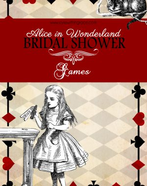 Alice In Wonderland Bridal Shower Games