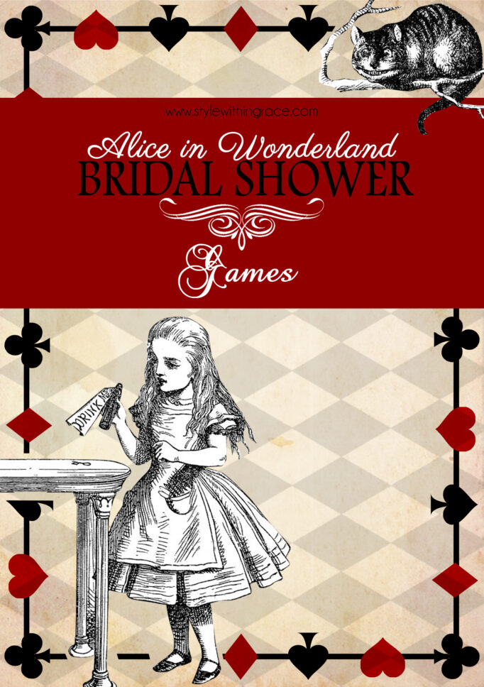 Mad Hatter Bridal Shower Games