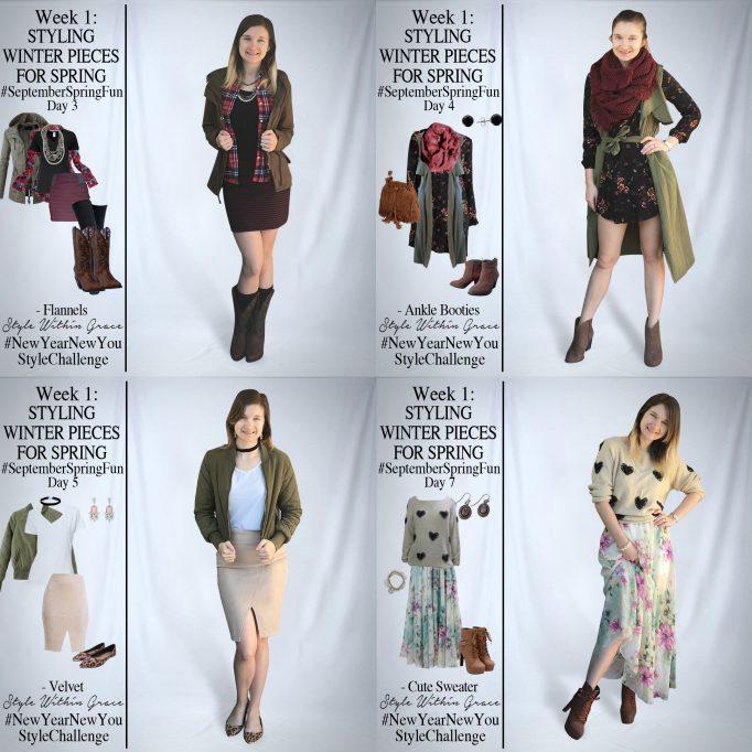 September Spring Fun Outfit Ideas Week 1