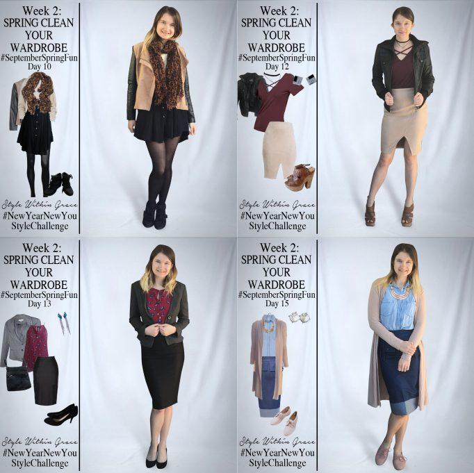 September Spring Fun Outfit Ideas Week 2