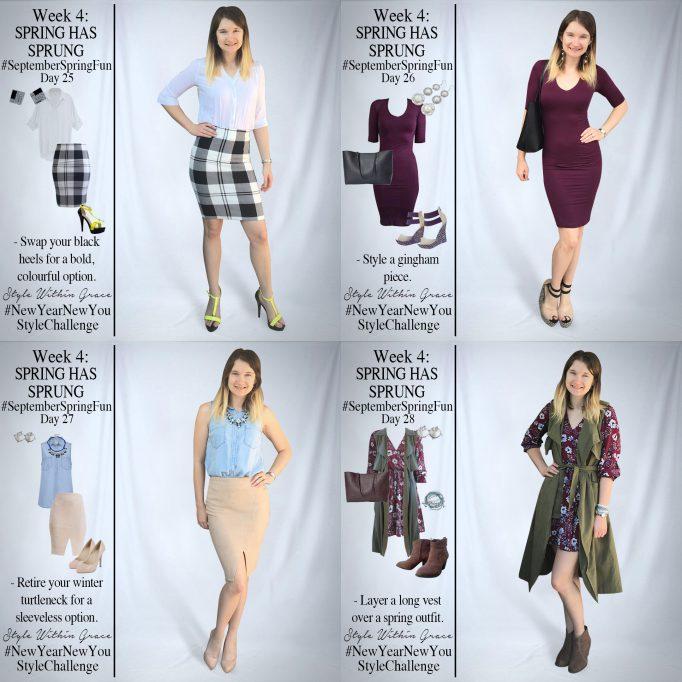 September Spring Fun Outfit Ideas Week 4