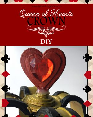 Queen of Hearts Crown DIY