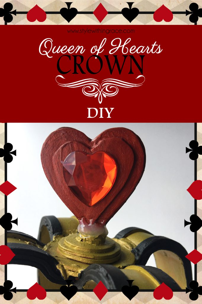 DIY Queen of Hearts Crown