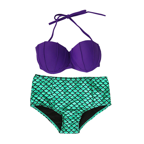 Ariel Little Mermaid Women's Bikini