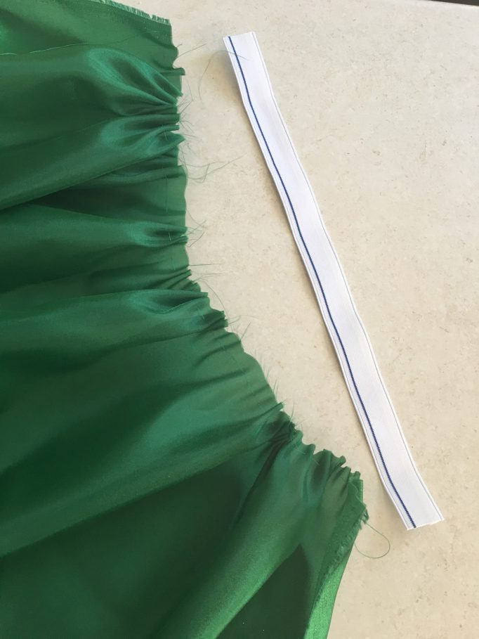 Creepy Little Mermaid Removal Tail Costume DIY Step 3-2