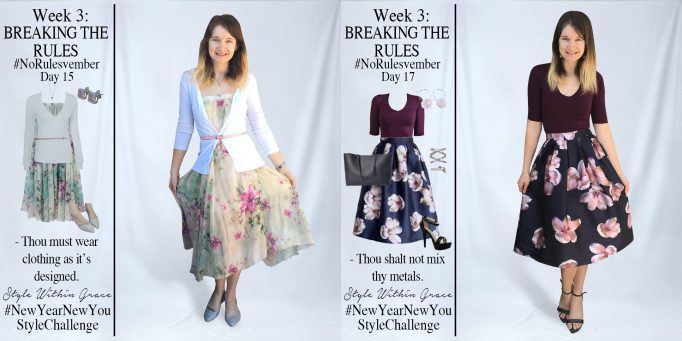 No[Rules]vember Week 3 Outfit Ideas