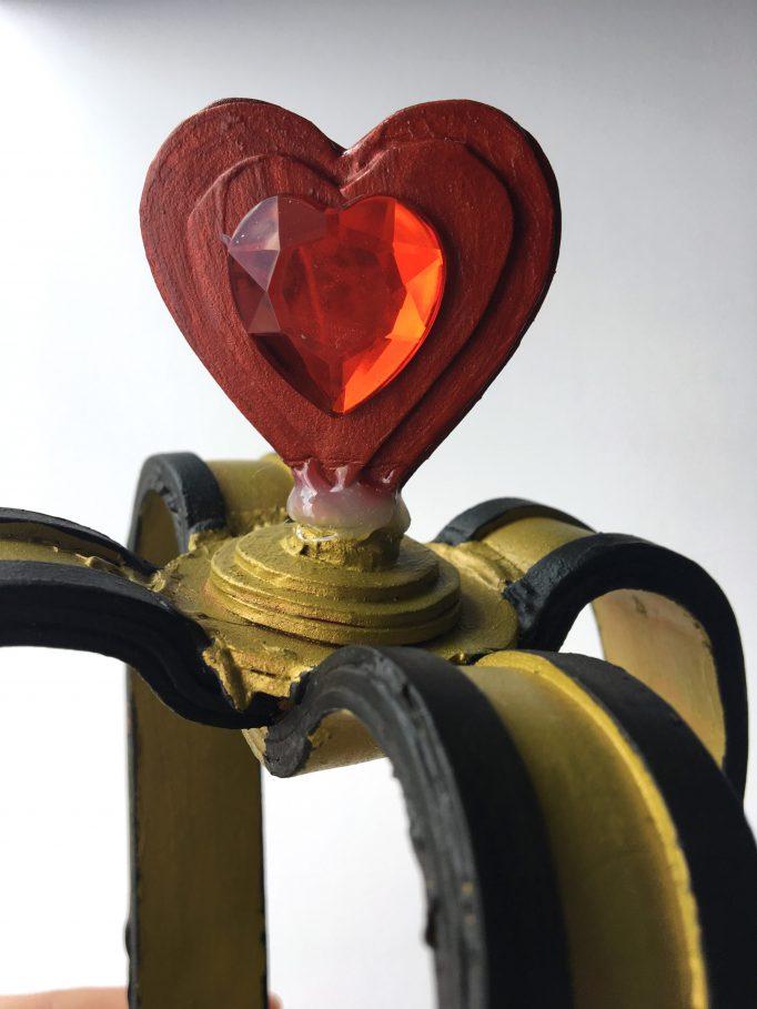 Queen of Hearts Crown DIY 6